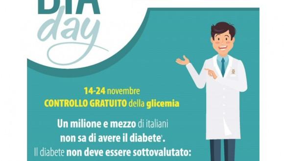 'DiaDay', le farmacie umbre in prima fila per lo screening gratuito del diabete