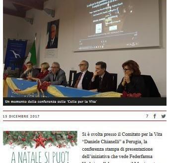 Culle per la Vita – FederFarma Umbria è presente