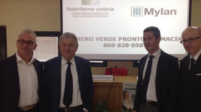'Pronto Farmacia', il numero verde gratuito 800 829 058 sempre a disposizione dei cittadini dell'Umbria