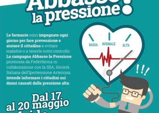 """""""Ipertensione killer silenzioso"""". In Umbria arriva 'Abbasso la Pressione', in farmacia la possibilità  di misurazione gratuita"""