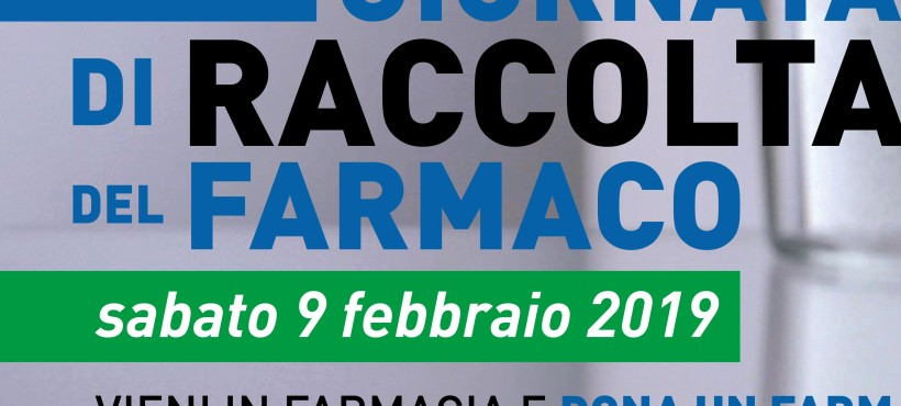 Giornata della Raccolta del Farmaco 2019