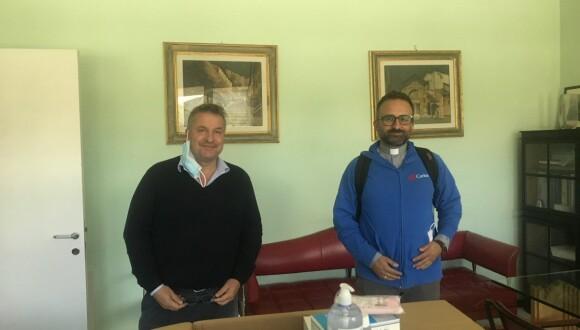 Farma Service Centro Italia dona 1000 mascherine alla Caritas di Perugia-Città della Pieve
